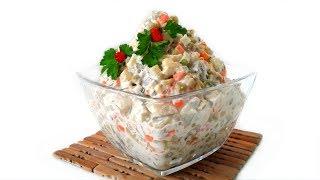 ОЛИВЬЕ  - салат. Рецепт 60-х годов по ГОСТу