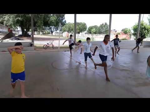Capoeira Raízes de Rondônia na Comunidade kolp de Jaru.