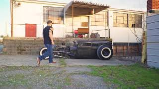 1929 Ford Model A Bagged and Chopped Rat Rod Hot Rod