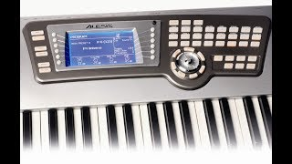Alesis Fusion Hd6 workstation synth - Impro demo by space4keys