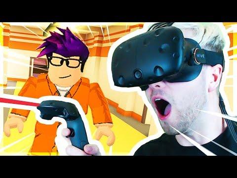 ROBLOX JAILBREAK IN VR! (Virtual Reality)