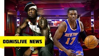 50 Cent Helps NY Knicks Cleanthony Early Shot & Robbed Outside Strip Club | DomislIve NEWS