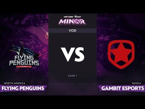 F Penguins vs Gambit - StarLadder ImbaTV Minor - Game 1