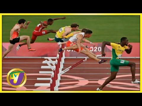 Hansle Parchment 110m Hurdles Final Golden Run at the Tokyo 2020 Olympics