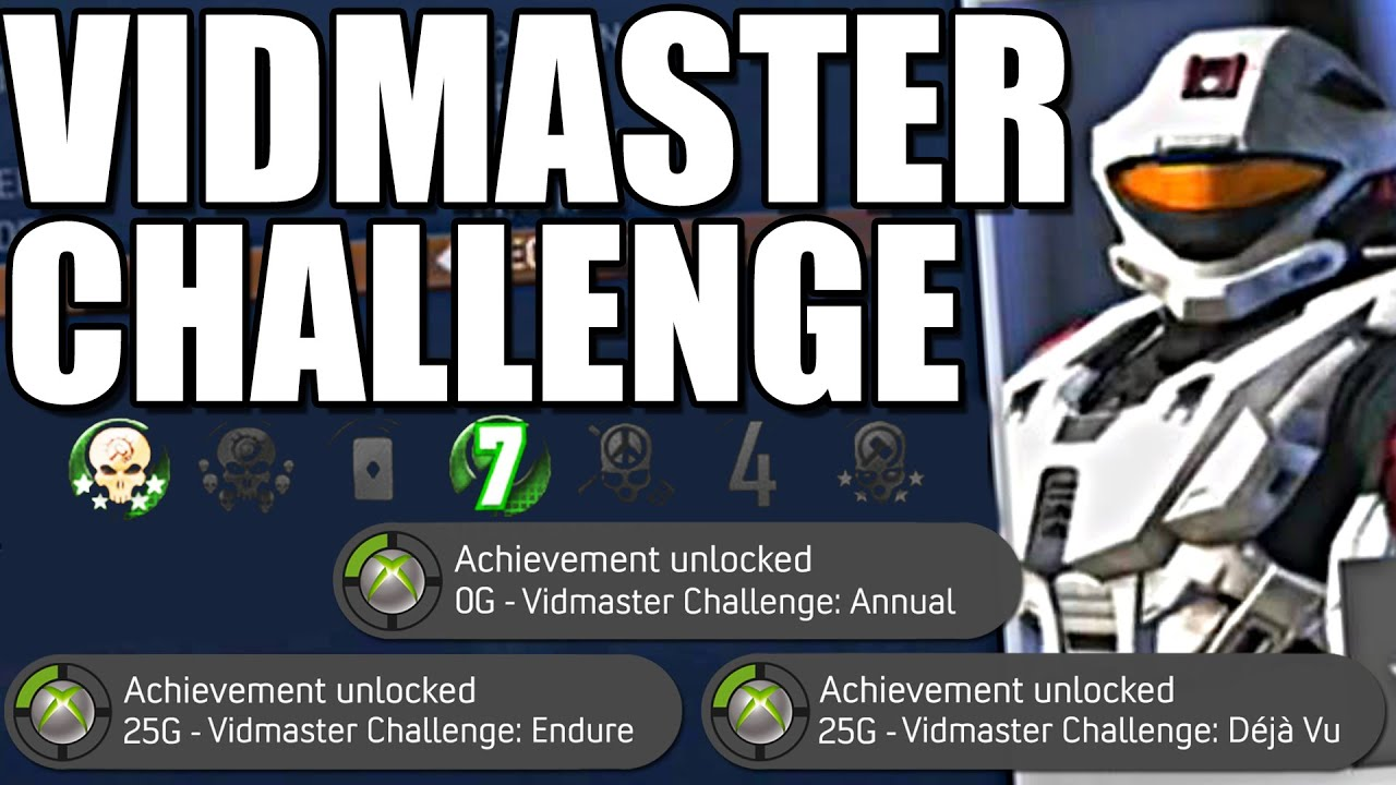 Beating the Halo 3 Vidmaster Challenge? (Halo 3/ODST Recon Unlocked)