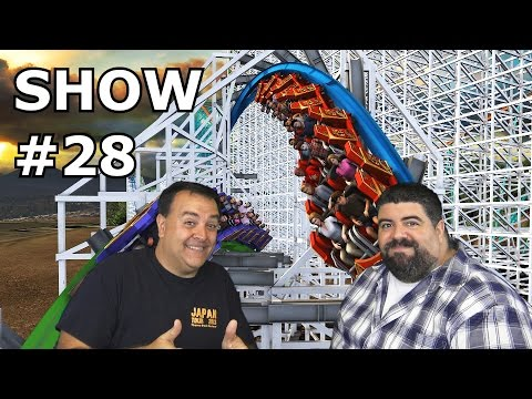 BIG FAT PANDA SHOW #28 with returning Guest Robb Alvey - Theme Park Review -  Oct 31, 2015