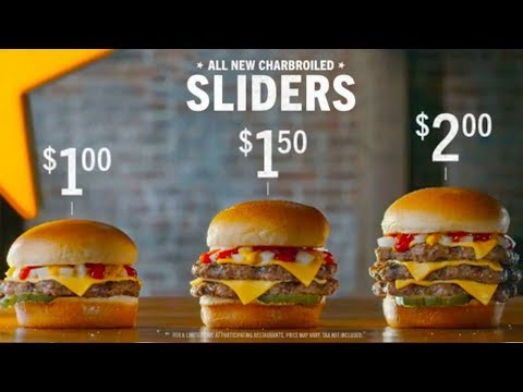 Hardee's / Carl's Jr's New Sliders Review