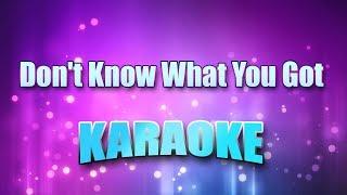 Cinderella - Don't Know What You Got (Karaoke & Lyrics)