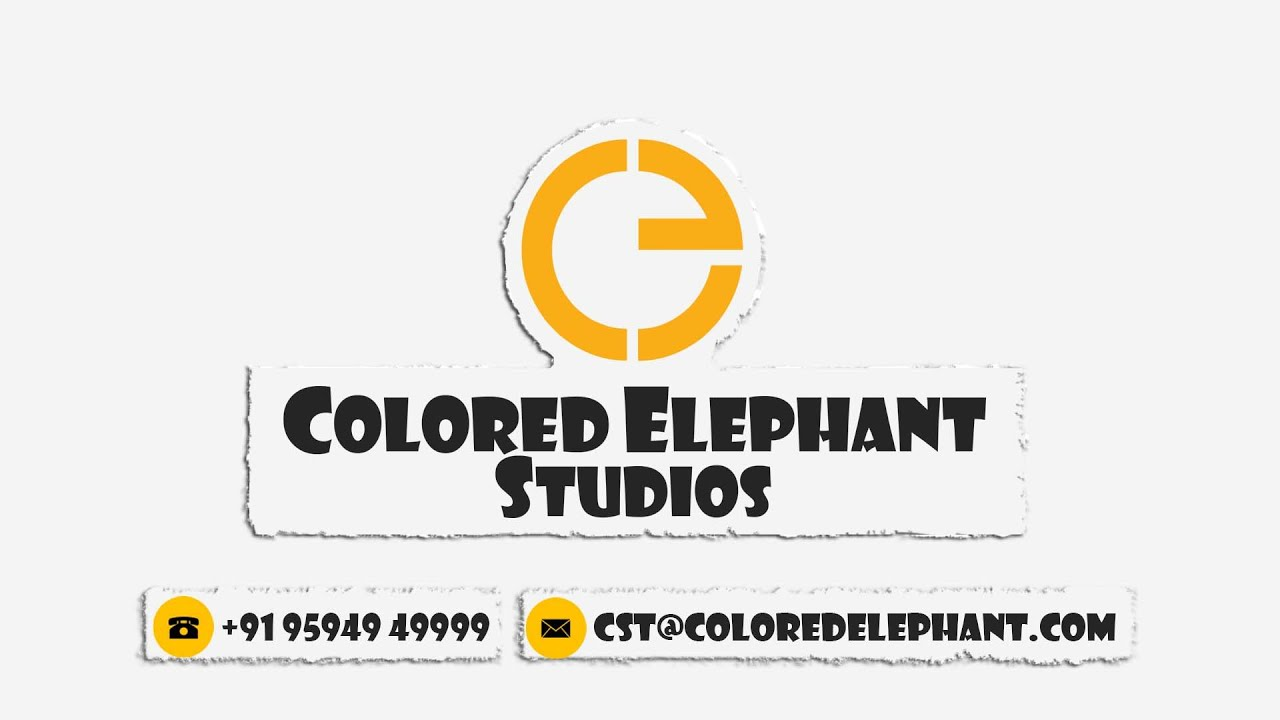 Colored Elephant Studio Services  YouTube