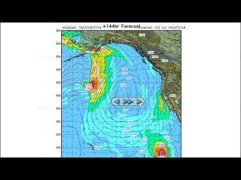 Stormsurf Video Surf and MJO/ENSO Forecast for Sun (9/30/18)