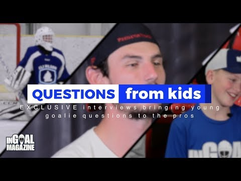 Kid Questions interview with Connor Hellebuyck
