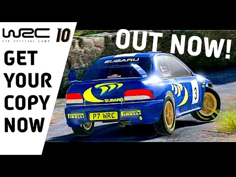 WRC 10 Available NOW! WRC 10 FIA World Rally Championship : WRC The Official Game
