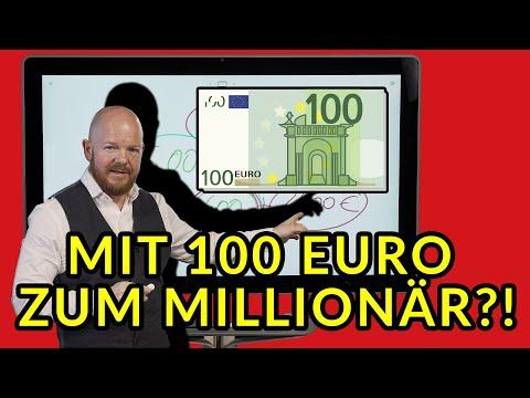Mit 100 Euro zum Millionär?!