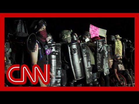 Go inside the Portland protests as tensions with police escalate