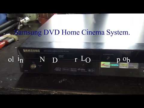 Samsung DVD Home Cinema System | How To Replace LENS Pickup.