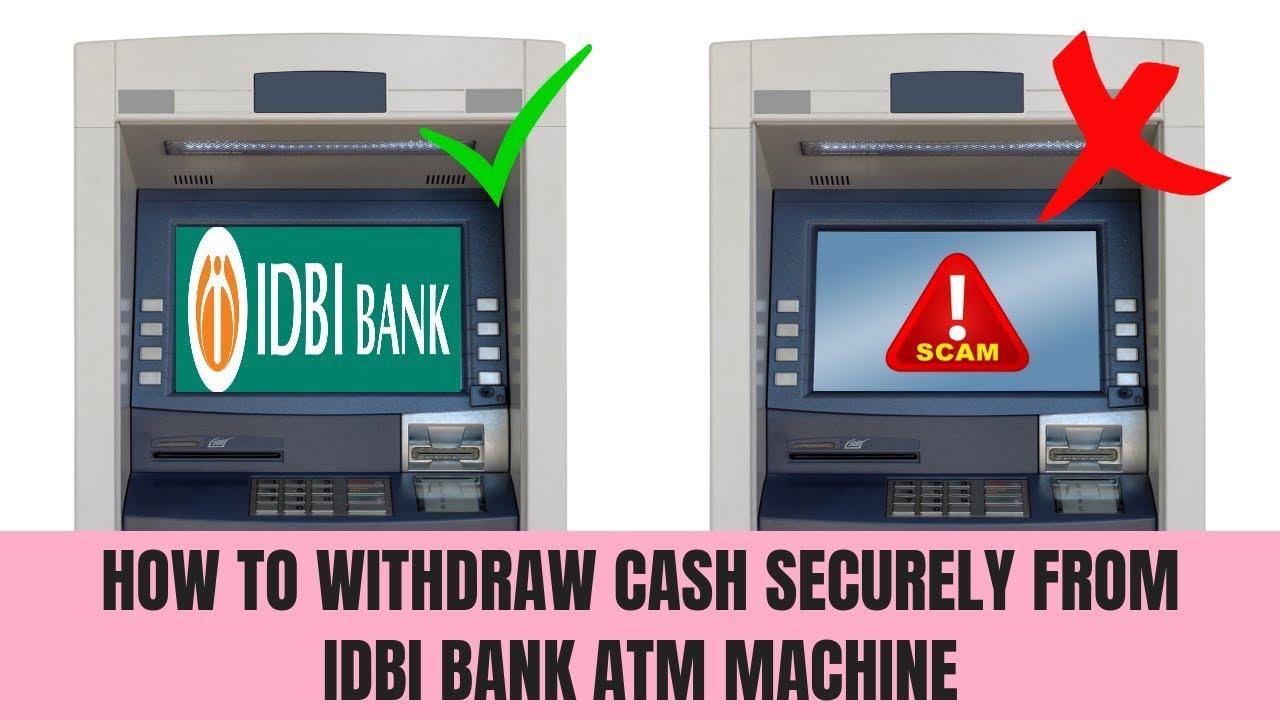 How to withdraw money from Idbi bank Atm | Idbi Bank Atm Se Paise Kaise  Nikale