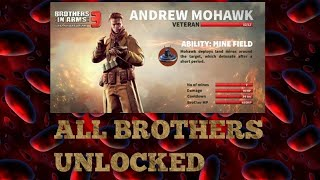 BIA3 -All weapons & Brother unlocked