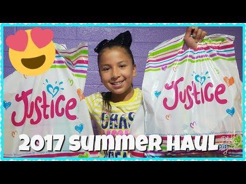 2017 JUSTICE SUMMER SWIMSUIT HAUL
