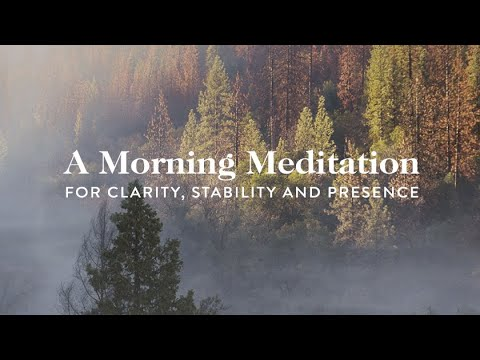 10 Minute Morning Meditation for Clarity, Stability, and Presence | Goop