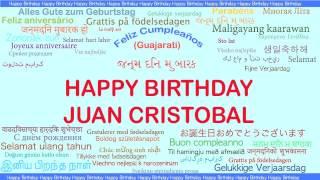 JuanCristobal   Languages Idiomas - Happy Birthday