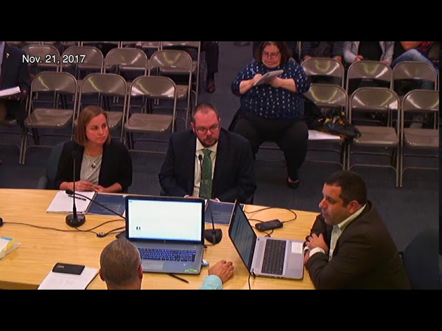Asbury Park City Council Meeting - Nov. 21, 2017