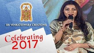 Bhumika Speech - Sri Venkateshwara Creations Most Successful Year (2017) Celebrations