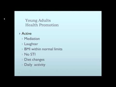 Life Span Considerations Health and Safety concerns