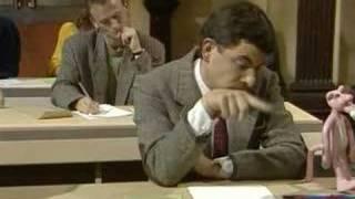 mr bean the exam