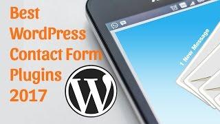 Best WordPress Contact Form Plugin 2017
