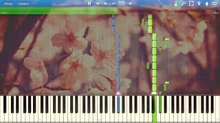Antonio Vivaldi - The Four Seasons- Spring- Allegro piano (Synthesia)