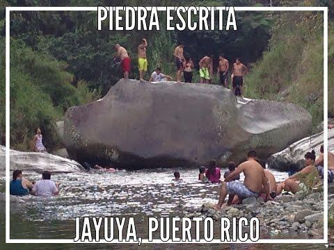 Piedra Escrita, Jayuya, Puerto Rico by Bori