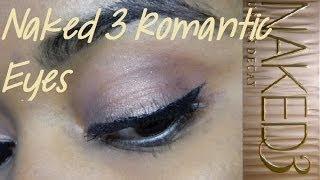 Urban Decay Naked 3: Romantic Rose Gold Eyes