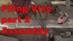 Making the Filing Vise - part 2 - blacksmith tools
