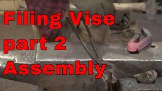 Making the Filing Vise - part 2 - blacksmith tools
