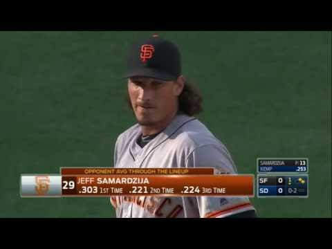 July 16, 2016-San Francisco Giants vs. San Diego Padres