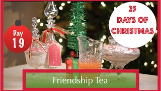 The Most DELICIOUS Holiday Tea EVER! | 19th Day of Christmas 2015!