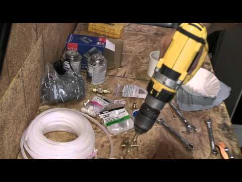 How To Make a Fluid Bed To Powder Paint Fishing Lures Part 1