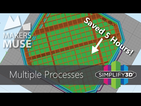Print Faster using Multiple Processes in Simplify3D - 3D Printing 101