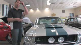 1967 Ford Mustang Shelby GT350 Fastback for sale with test drive, and walk through video