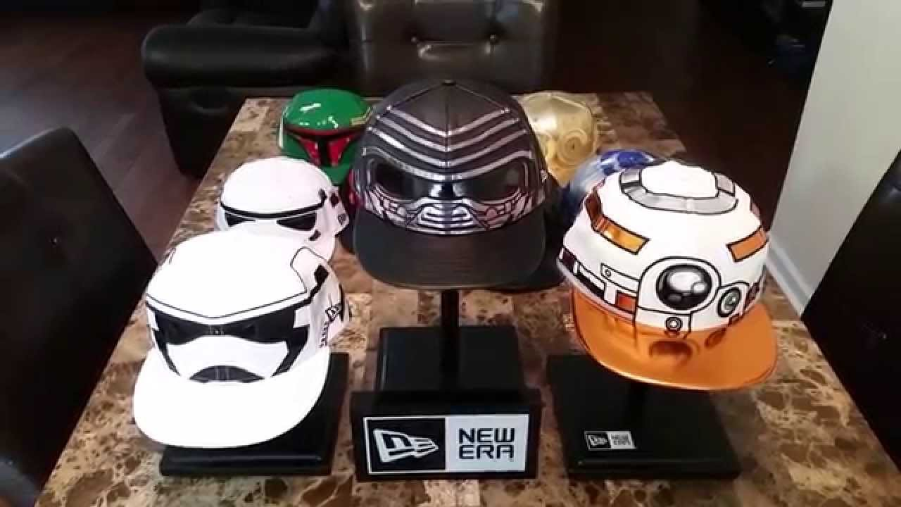 New Era Star Wars The Force Awakens Fitted Cap Collection - YouTube 6116b623d67