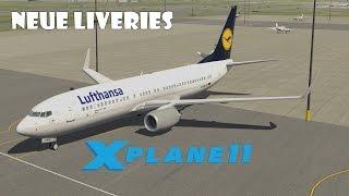 X Plane 11 - Installieren von neuen Liveries [German]