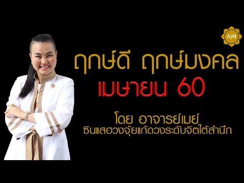 ฤกษ์ดี ฤกษ์มงคล เดือนเมษายน 60 - อาจารย์เมย์
