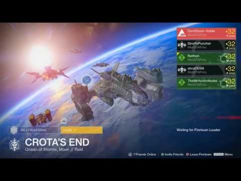 "Hard And Normal Mode ""Crota's End""  #PS4 (Cheese Mode)"