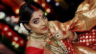 Dusky Bong Beauty    Bridal Makeup on Dusky Indian    HudaBeauty    Makeover By Reshmi
