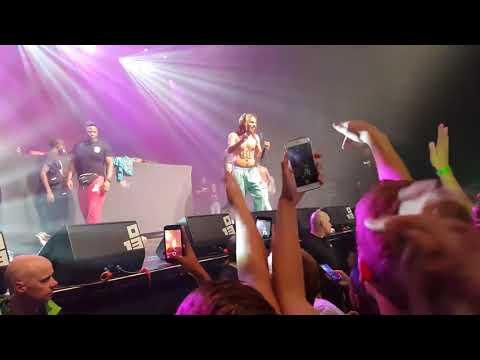6IX9INE - STOOPID FT. BOBBY SHMURDA FIRST TIME CONCERT LIVE @poppodium Tilburg