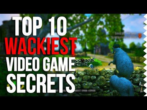 Top 10 Wackiest Easter Eggs In Video Games!