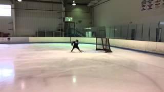 Brendan Weaver: Morning Skate at IceWorld- 11/29/14