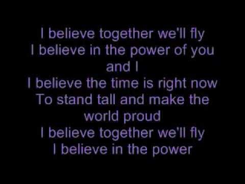 I Believe - Nikki Yanofsky [ Lyrics On Screen & Extended Version ]