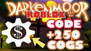 [CODE] How to Get 250 FREE Cogs in Darkenmoor - Roblox