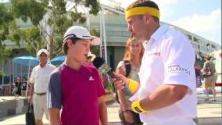 australian open 2012 the steps of truth name pronunciation